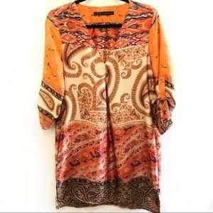 Zara Boho Paisley Dress or Tunic in Medium